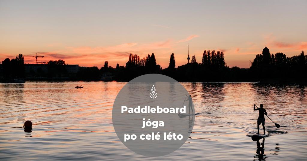 paddleboard jóga